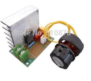 4000W 220V Voltage Regulator for Dimming Light Lamps ,Speed ,Voltage Temperaute control