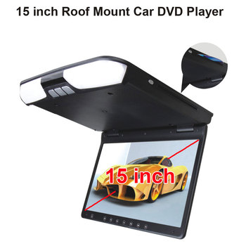 15 inç Çatı Dağı Car DVD Player