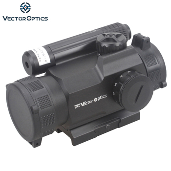 Rayman vektör Optics'in 1x30 Red Dot Kapsam GunSight ile Yan KıRMıZı lazer Sight Combo AK15 AK 47 Silah Sight fit Picatinny Ray