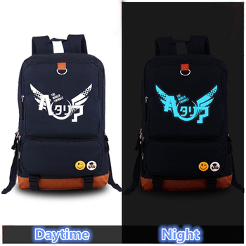 2017 Harajuku Axis Powers HETALIA Luminous Cosplay Printing Backpack School Bags for Teenagers Canvas Laptop Bag